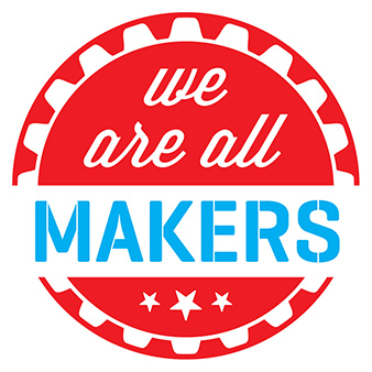 We are all makers (logo)